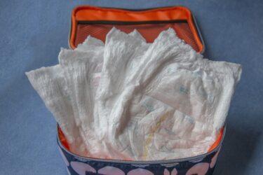 おむつが臭わない袋の代用は100均に売ってる?アイラップやパン袋は?